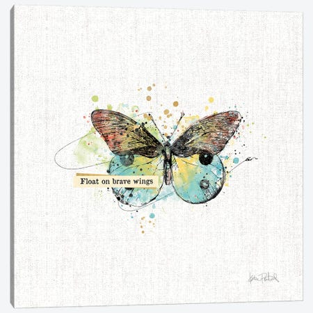 Thoughtful Butterflies III Canvas Print #WAC9464} by Katie Pertiet Art Print