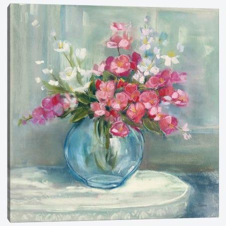 Spring Bouquet I Canvas Print #WAC9466} by Carol Rowan Art Print
