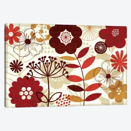 Floral Pop I  Canvas Print #WAC946} by Michael Mullan Canvas Wall Art