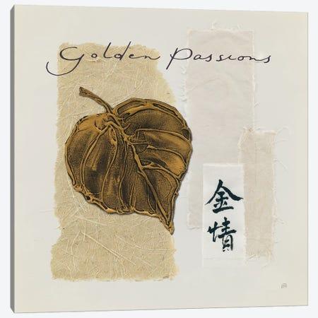 Bronze Leaf III Golden Passions Canvas Print #WAC9471} by Chris Paschke Canvas Print