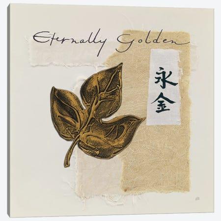 Bronze Leave IV Eternally Golden Canvas Print #WAC9472} by Chris Paschke Canvas Art Print