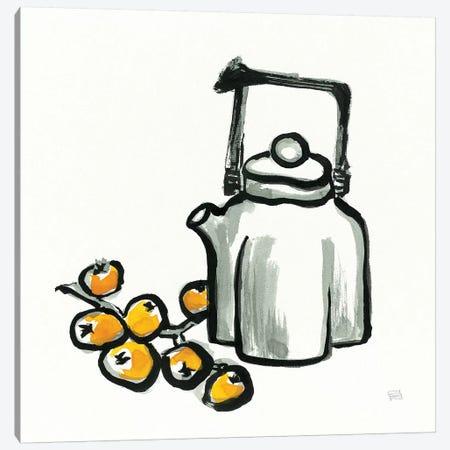 Tea and Loquats Canvas Print #WAC9478} by Chris Paschke Art Print