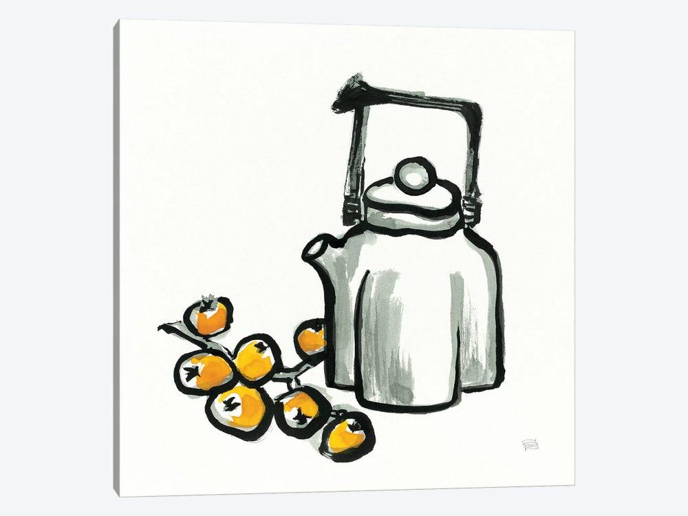 Tea and Loquats by Chris Paschke 1-piece Canvas Art Print