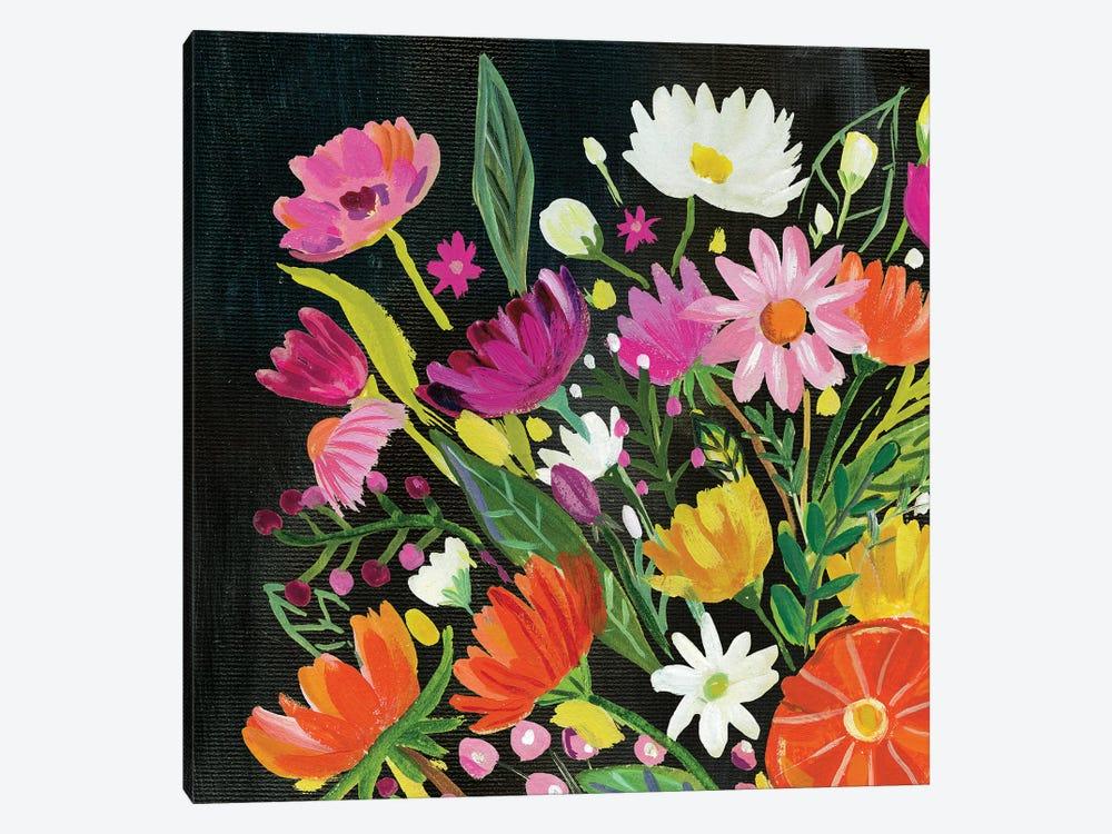 Vintage Floral I by Farida Zaman 1-piece Canvas Art