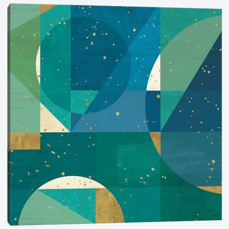 Geo Contour III Canvas Print #WAC9496} by Veronique Charron Canvas Artwork
