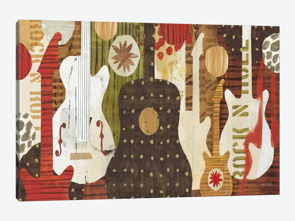 Rock and Roll Fantasy by Michael Mullan 1-piece Art Print