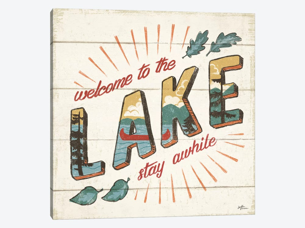 Vintage Lake II by Janelle Penner 1-piece Art Print