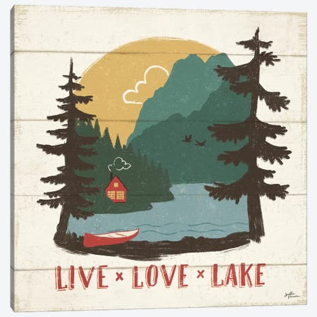 Vintage Lake VII Canvas Print #WAC9512} by Janelle Penner Canvas Artwork