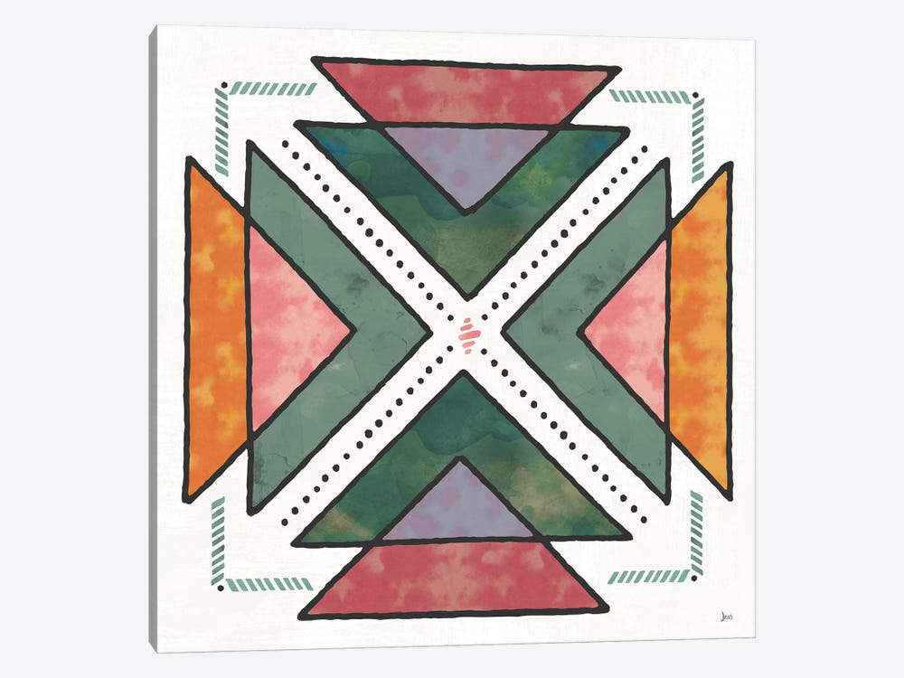 Spectrum VI by Jess Aiken 1-piece Canvas Print