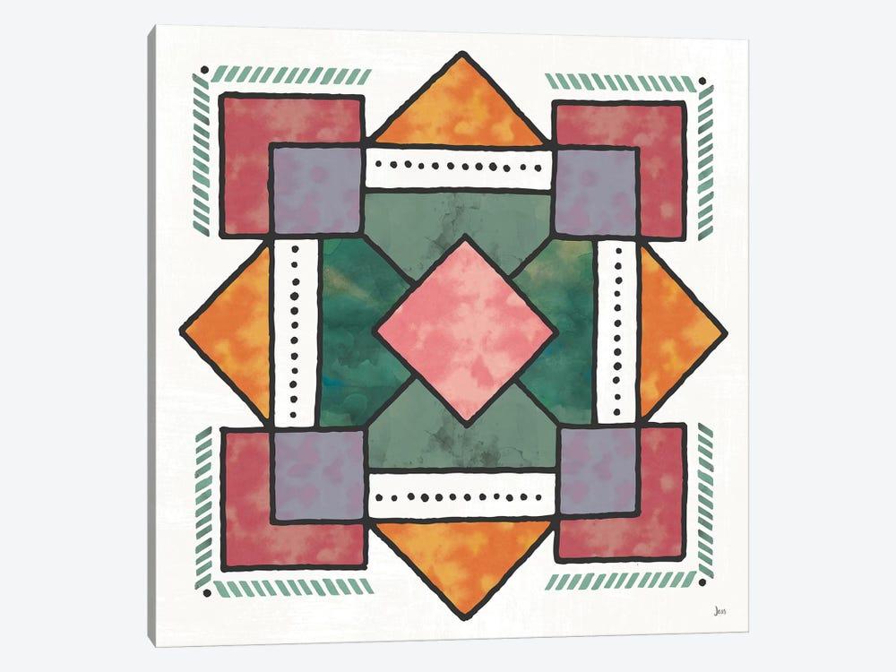 Spectrum VII by Jess Aiken 1-piece Canvas Art Print