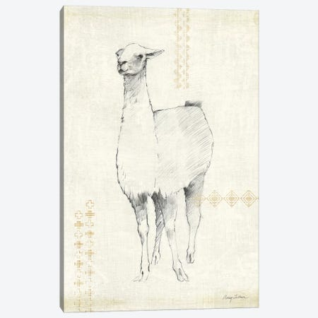 Llama Land XI Canvas Print #WAC9525} by Avery Tillmon Canvas Wall Art