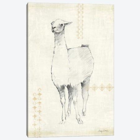 Llama Land XI Canvas Print #WAC9525} by Avery Tillmon Canvas Wall Art