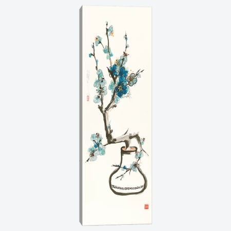 Blue Blossom Canvas Print #WAC9528} by Chris Paschke Art Print