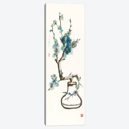 Blue Blossom Canvas Print #WAC9528} by Chris Paschke Art Print