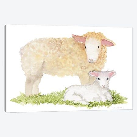 Life on the Farm: Animal Element III Canvas Print #WAC9532} by Kathleen Parr McKenna Canvas Art