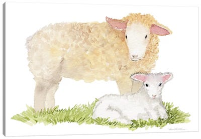 Life on the Farm: Animal Element III Canvas Art Print