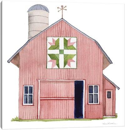 Life on the Farm: Barn Element I Canvas Art Print