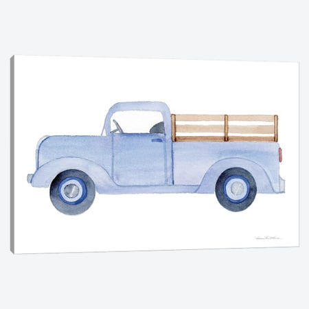 Life on the Farm: Truck Element Canvas Print #WAC9538} by Kathleen Parr McKenna Canvas Art