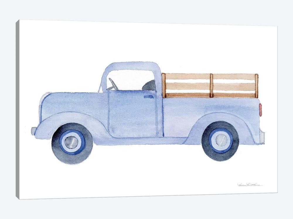 Life on the Farm: Truck Element by Kathleen Parr McKenna 1-piece Canvas Art