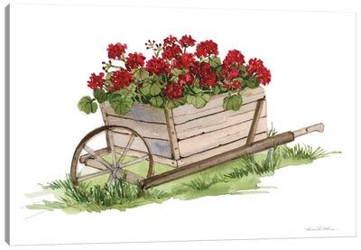 Life on the Farm: Wheelbarrow Element Canvas Art Print