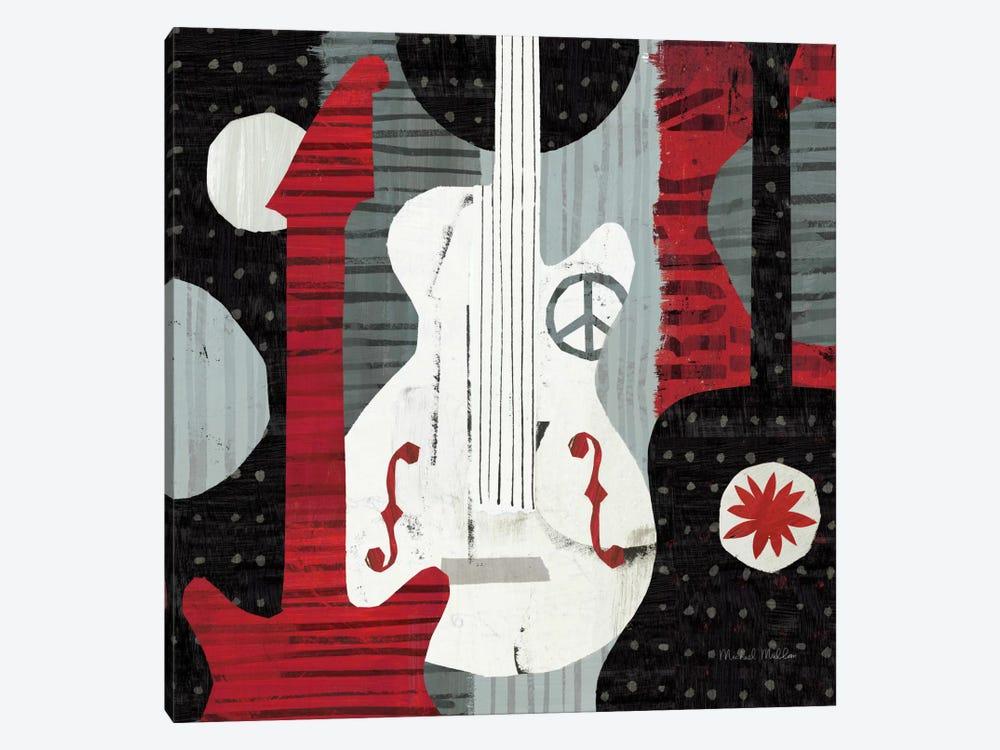 Rock 'n Roll Guitars by Michael Mullan 1-piece Canvas Art