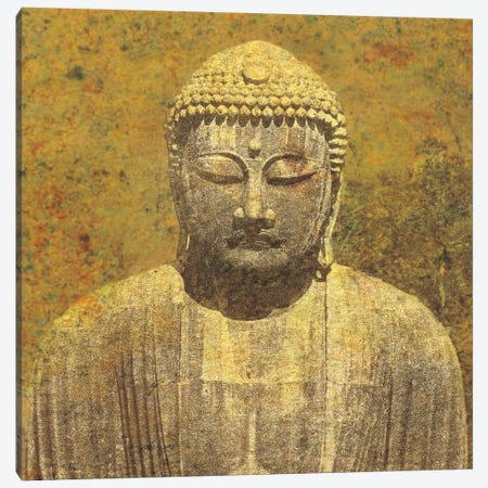 Asian Buddha Canvas Print #WAC9549} by Wild Apple Portfolio Canvas Print
