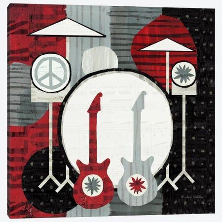 Rock 'n Roll Drums Canvas Print #WAC954} by Michael Mullan Canvas Art Print