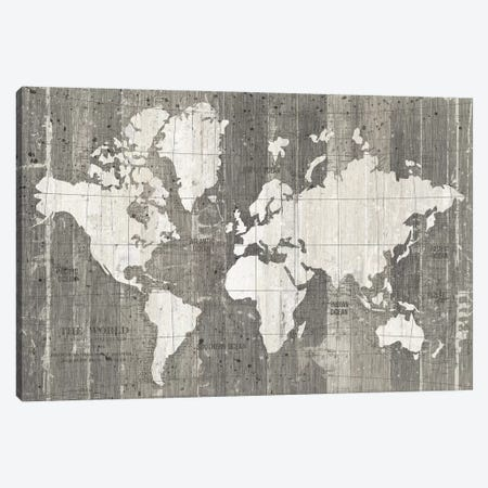 Old World Map Canvas Print #WAC9551} by Wild Apple Portfolio Canvas Art