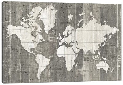 Old World Map Canvas Art Print