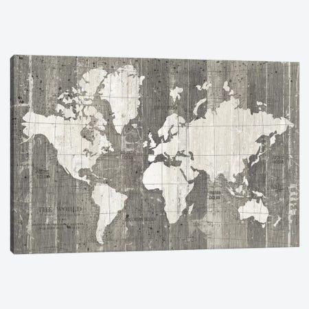 Old World Map Canvas Print #WAC9551} by Wild Apple Portfolio Canvas Art