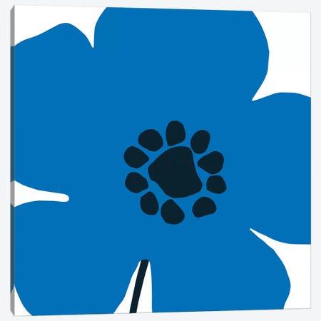Pop Art Floral I Canvas Print #WAC9553} by Wild Apple Portfolio Canvas Artwork