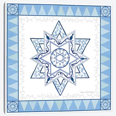 Celebrating Hanukkah I Canvas Print #WAC9561} by Kathleen Parr McKenna Canvas Art Print
