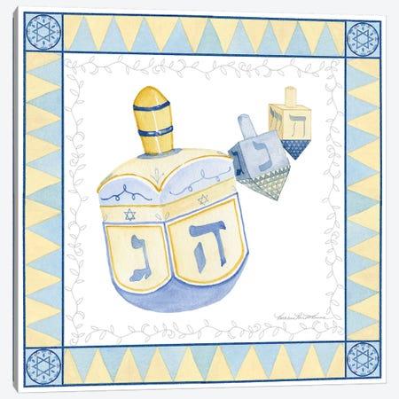 Celebrating Hanukkah II Canvas Print #WAC9562} by Kathleen Parr McKenna Canvas Print