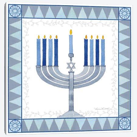Celebrating Hanukkah III Canvas Print #WAC9563} by Kathleen Parr McKenna Canvas Print
