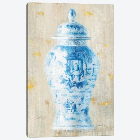 Ginger Jar II Light Crop Canvas Print #WAC9568} by Wild Apple Portfolio Canvas Art Print