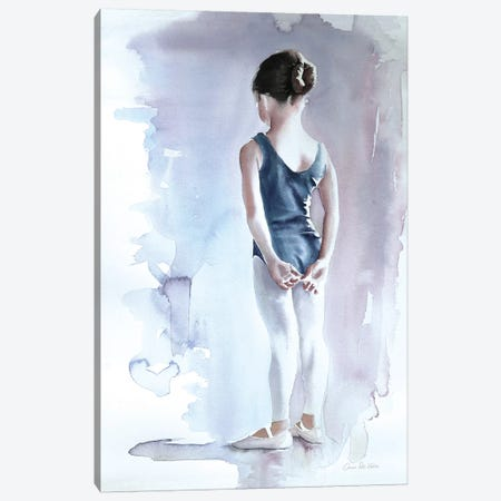 First Day at Ballet Canvas Print #WAC9579} by Wild Apple Graphics Canvas Art