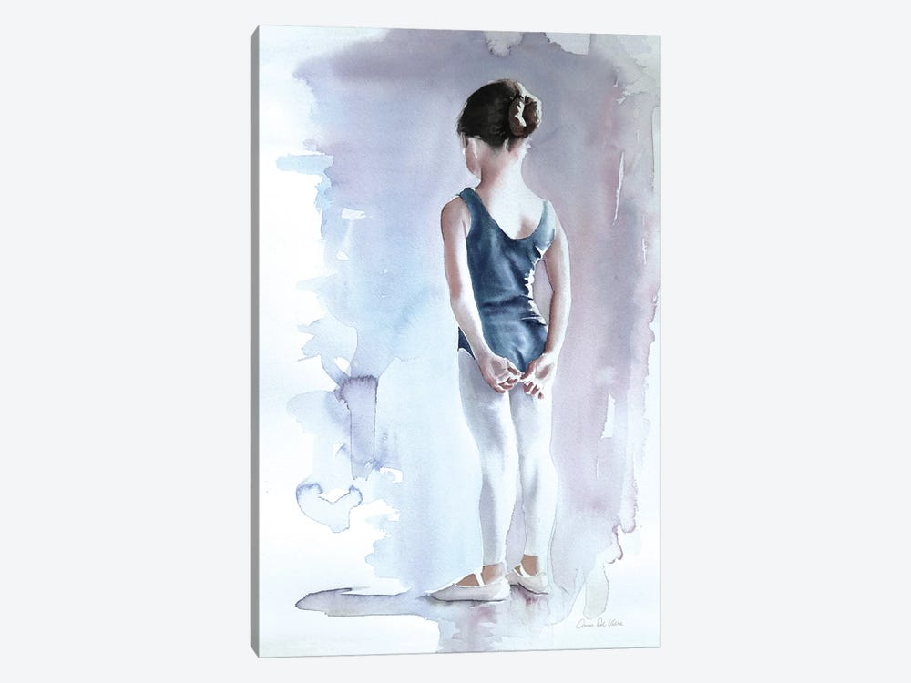 First Day at Ballet by Wild Apple Graphics 1-piece Canvas Print