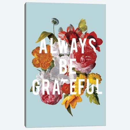 Floral Sentiment I Canvas Print #WAC9586} by Wild Apple Portfolio Canvas Artwork