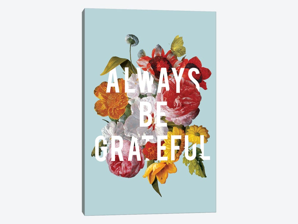 Floral Sentiment I by Wild Apple Portfolio 1-piece Art Print
