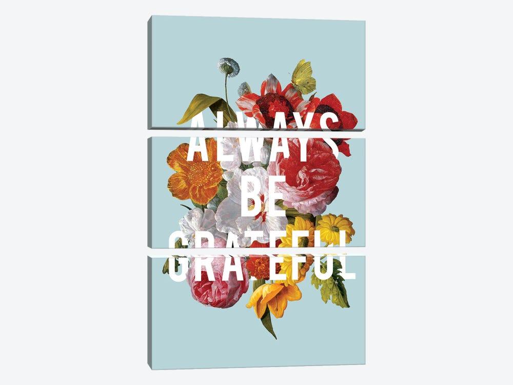 Floral Sentiment I by Wild Apple Portfolio 3-piece Art Print