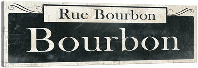 French Quarter Sign I Canvas Art Print