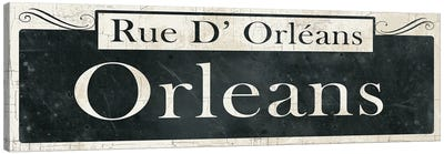 French Quarter Sign II Canvas Art Print