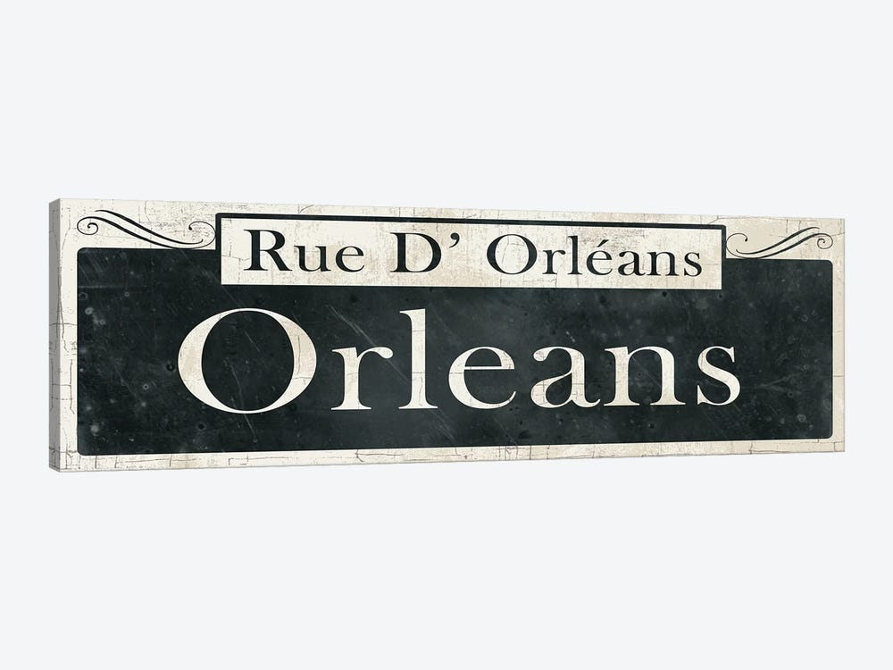 French Quarter Sign II 1-piece Canvas Artwork