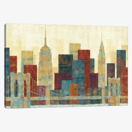 Majestic City Canvas Print #WAC958} by Michael Mullan Canvas Artwork