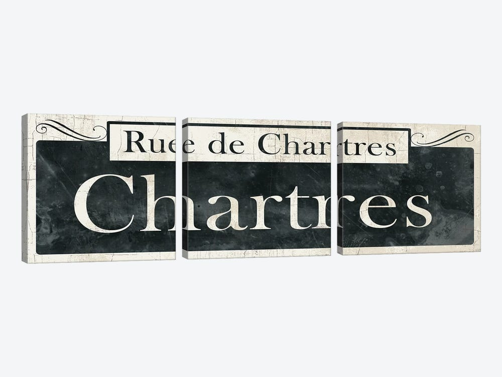 French Quarter Sign IV by Wild Apple Portfolio 3-piece Art Print