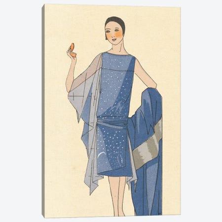 Lady In Velvet Canvas Print #WAC9599} by Wild Apple Portfolio Canvas Wall Art