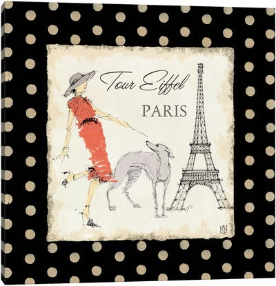 Ladies in Paris II Canvas Art Print