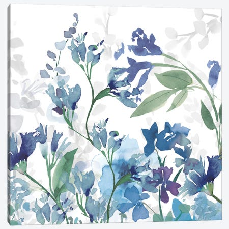 Colors of the Garden III Cool Shadows Canvas Print #WAC9608} by Wild Apple Portfolio Canvas Wall Art