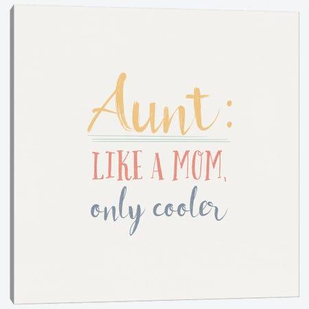 Aunt Inspiration I Color Canvas Print #WAC9626} by Wild Apple Portfolio Art Print
