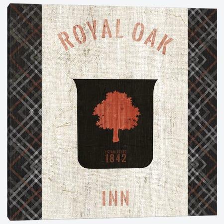 Tartan Lodge Shield II Canvas Print #WAC9651} by Wild Apple Portfolio Canvas Art Print